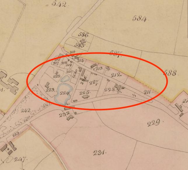 Map of Rossett Green Area